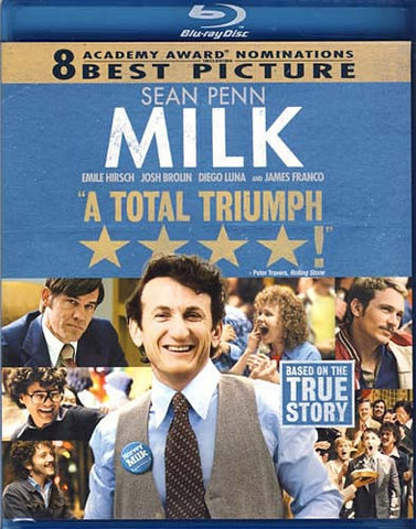 Milk (Bilingual) (Blu-ray) BLU-RAY Movie