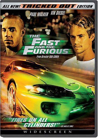 The Fast and the Furious (Widescreen Tricked Out Edition) DVD Movie