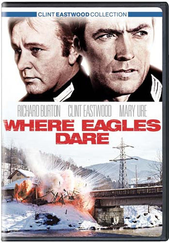 Where Eagles Dare (Keepcase)(Bilingual) DVD Movie