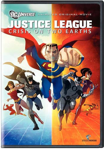 Justice League - Crisis on Two Earths (Single-Disc Edition) DVD Movie