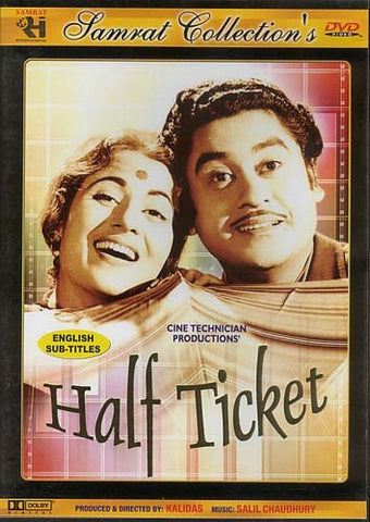 Half Ticket (Original Hindi Movie) DVD Movie