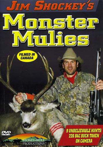 Jim Shockey's Monster Mulies DVD Movie