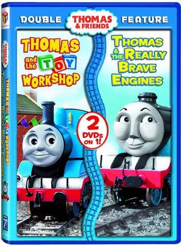 Thomas And Friends - Thomas And the Toy Workshop/Thomas And the Really Brave Engine (HIT) DVD Movie