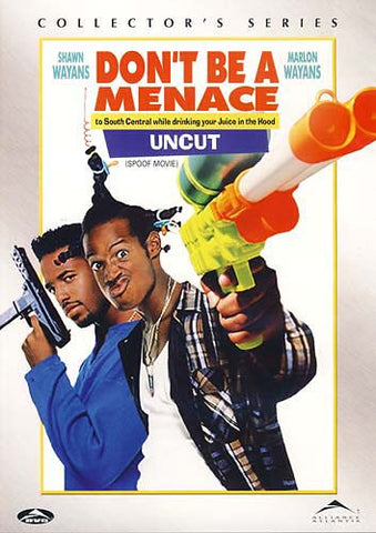 Don t Be a Menace to South Central While Drinking Your Juice in The Hood (Collector s Series) (Bilin DVD Movie