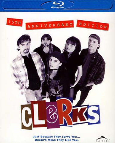 Clerks (15th Anniversary Edition) (Blu-ray) BLU-RAY Movie