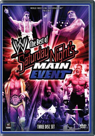 WWE - The Best of Saturday Night's Main Event (Boxset) DVD Movie