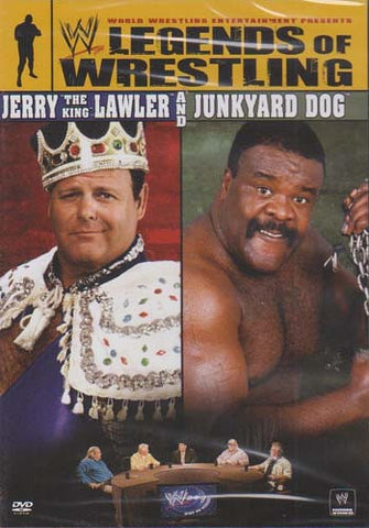 WWE - Legends of Wrestling - Jerry the King Lawler and Junkyard Dog DVD Movie
