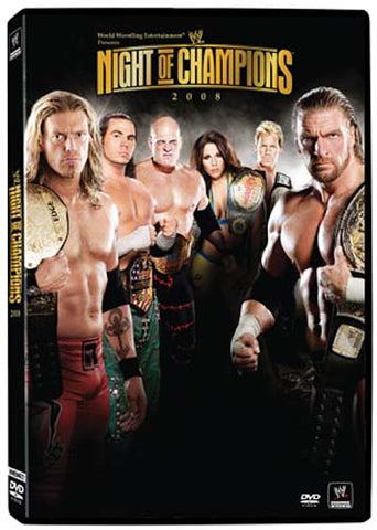 WWE - Night of Champions 2008 DVD Movie