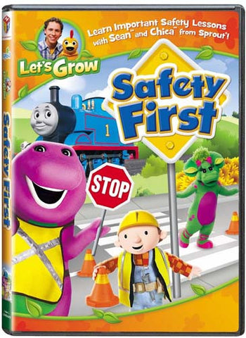 Safety First (Let's Grow) DVD Movie