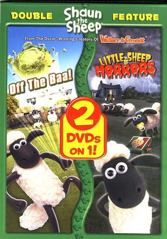 Shaun The Sheep - Off The Baa / Little Sheep Of Horrors (Double Feature) DVD Movie