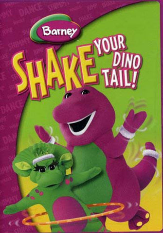 Barney - Shake Your Dino Tail DVD Movie