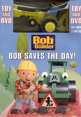 Bob The Builder - Bob Saves The Day! (With Toy) (Boxset) DVD Movie