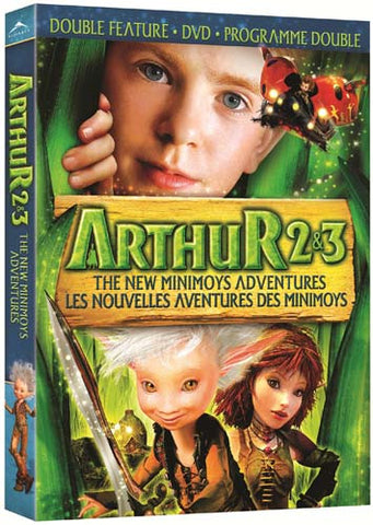 Arthur 2 And 3 - The New Minimoys Adventures (Double Feature) (Bilingual) DVD Movie
