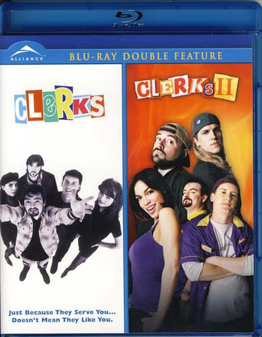 Clerks / Clerks II - (Double Feature) (Blu-ray) BLU-RAY Movie
