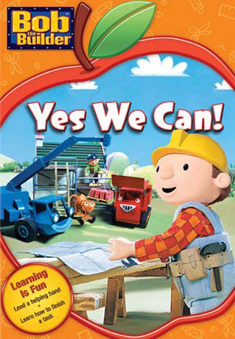 Bob The Builder - Yes We Can (Learning Is Fun) (Orange Cover) DVD Movie