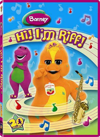 Barney - Hi! I'm Riff! DVD Movie