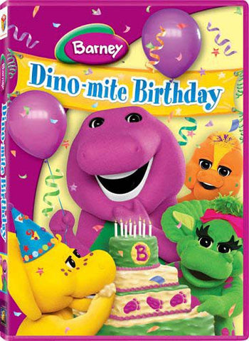 Barney - Dino-Mite Birthday DVD Movie