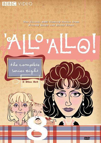 'Allo 'Allo! - Complete Series Eight DVD Movie