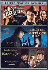 The Hound of the Baskervilles / The Private Life of Sherlock Holmes / Without a Clue (Triple Feature