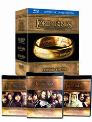 The Lord of the Rings - Extended Motion Trilogy (Blu-ray) (Boxset)