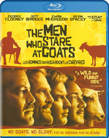 The Men Who Stare At Goats (Bilingual) (Blu-ray) BLU-RAY Movie