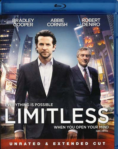Limitless (Blu-ray) (Unrated Extended Edition) BLU-RAY Movie