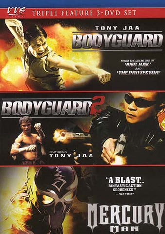 The Bodyguard / The Bodyguard 2 / Mercury Man (Triple Feature) DVD Movie