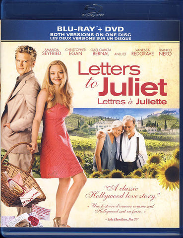 Letters To Juliet - Blu-ray+DVD Combo (Bilingual) (Blu-ray) BLU-RAY Movie