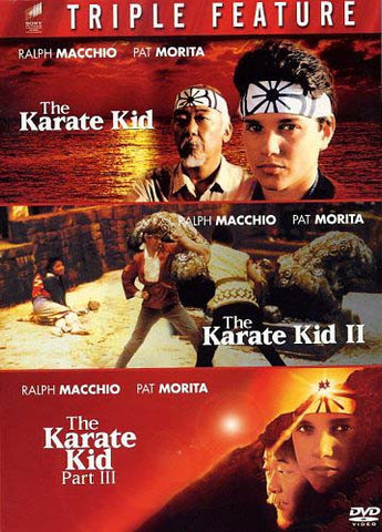 The Karate Kid Triple Feature (The Karate Kid, The Karate Kid II, The Karate Kid Part III) (Boxset) DVD Movie