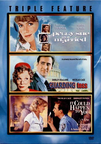 Peggy Sue Got Married / Guarding Tess / It Could Happen to You (Triple Feature) (Boxset) DVD Movie