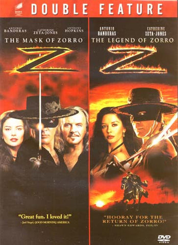 The Mask of Zorro / The Legend of Zorro (Double Feature) DVD Movie