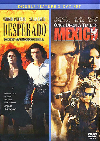 Desperado / Once Upon a Time in Mexico (Double Feature 2 - DVD Set) DVD Movie