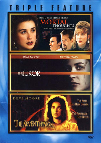 The Juror / The Seventh Sign / Mortal Thoughts - Triple Feature (Boxset) DVD Movie