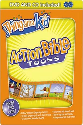 Action Bible Toons DVD Movie