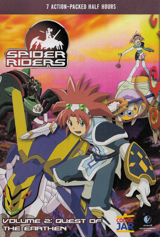 Spider Riders - Quest Of The Earthen- Volume 2 DVD Movie