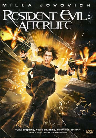 Resident Evil - Afterlife DVD Movie