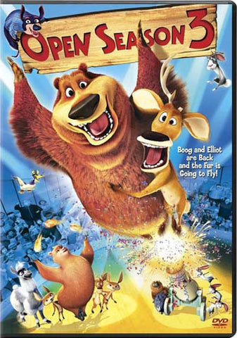 Open Season 3 DVD Movie