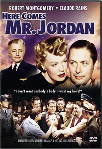 Here Comes Mr. Jordan DVD Movie