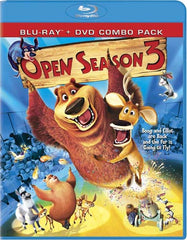 Open Season 3 (Blu-ray/DVD Combo) (Blu-ray)