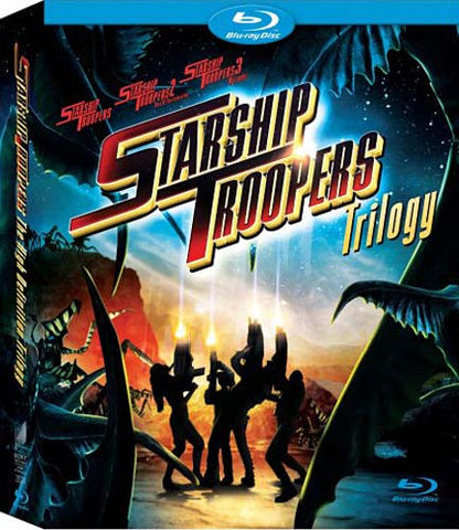 Starship Troopers Trilogy (Blu-ray) (Boxset) (Do not add in inventory) BLU-RAY Movie