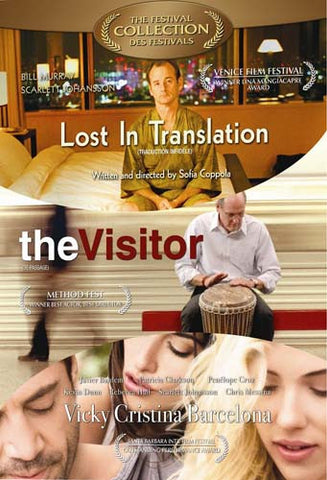 Lost In Translation / Visitor / Vicky Cristina Barcelona (3 Pack) (Boxset) DVD Movie