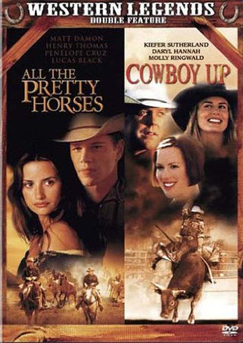 All the Pretty Horses / Cowboy Up (Western legends Double Feature) DVD Movie