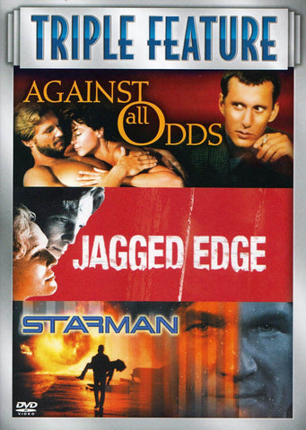Against All Odds / Jagged Edge / Starman (Triple Feature) DVD Movie