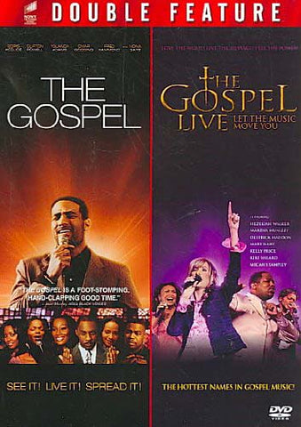 The Gospel / The Gospel Live - Let The music Move You (Double Feature) DVD Movie