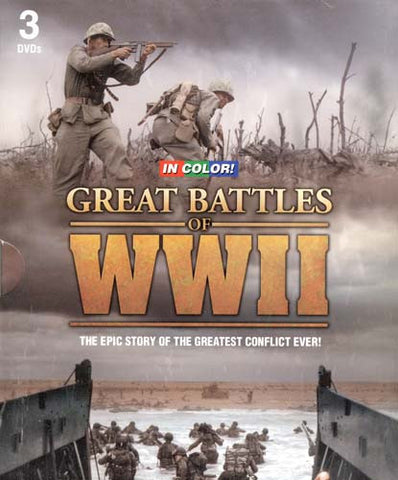 Great Battles Of WWII (Boxset) DVD Movie