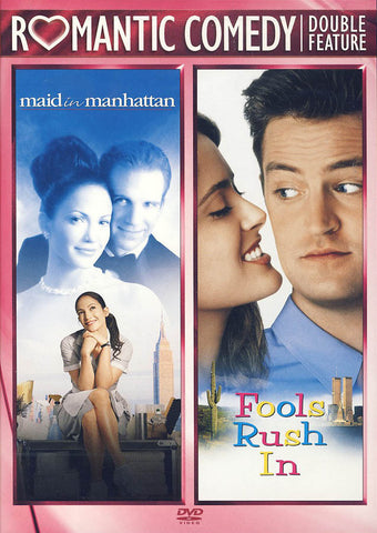 Maid in Manhattan / Fools Rush In (Romance Comedy Double Feature) DVD Movie