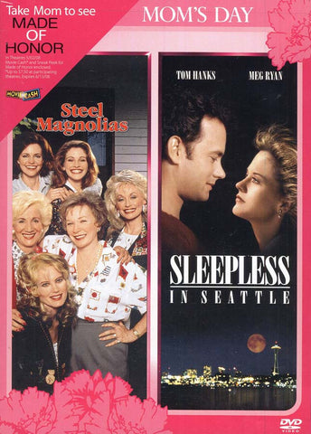 Steel Magnolias / Sleepless in Seattle (Double Feature Mother s Day Release) DVD Movie