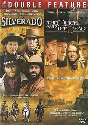 Silverado / The Quick And The Dead (Double Feature) DVD Movie