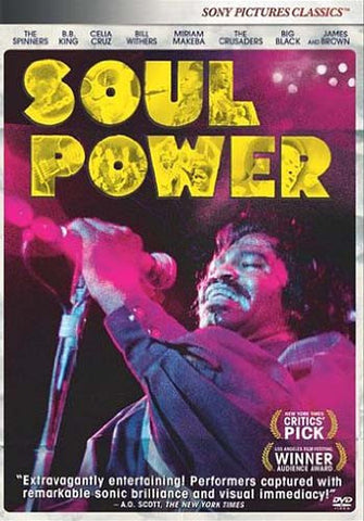 Soul Power DVD Movie