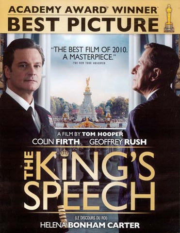 The King s Speech (Bilingual) DVD Movie